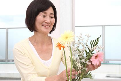 ストレス軽減効果、健康寿命が伸びる効果が期待できます。